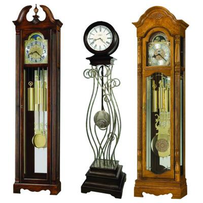 Howard Miller (США) Механические и кварцевые напольные часы