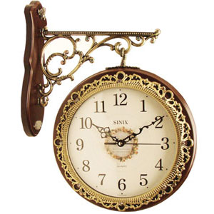 Двусторонние часы