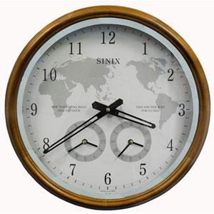 Настенные часы с часовыми поясами