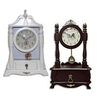 Настольные часы со шкатулкой