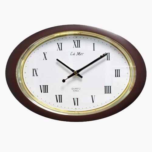 Овальные часы