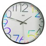 Разноцветные настенные часы