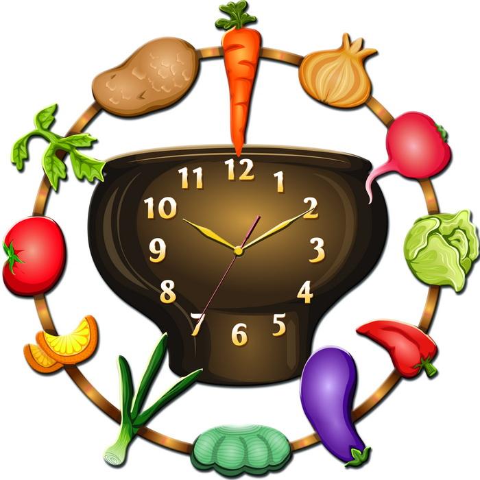 Часы для кухни Тиарелла