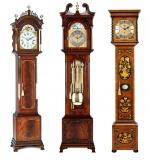 Английские напольные часы