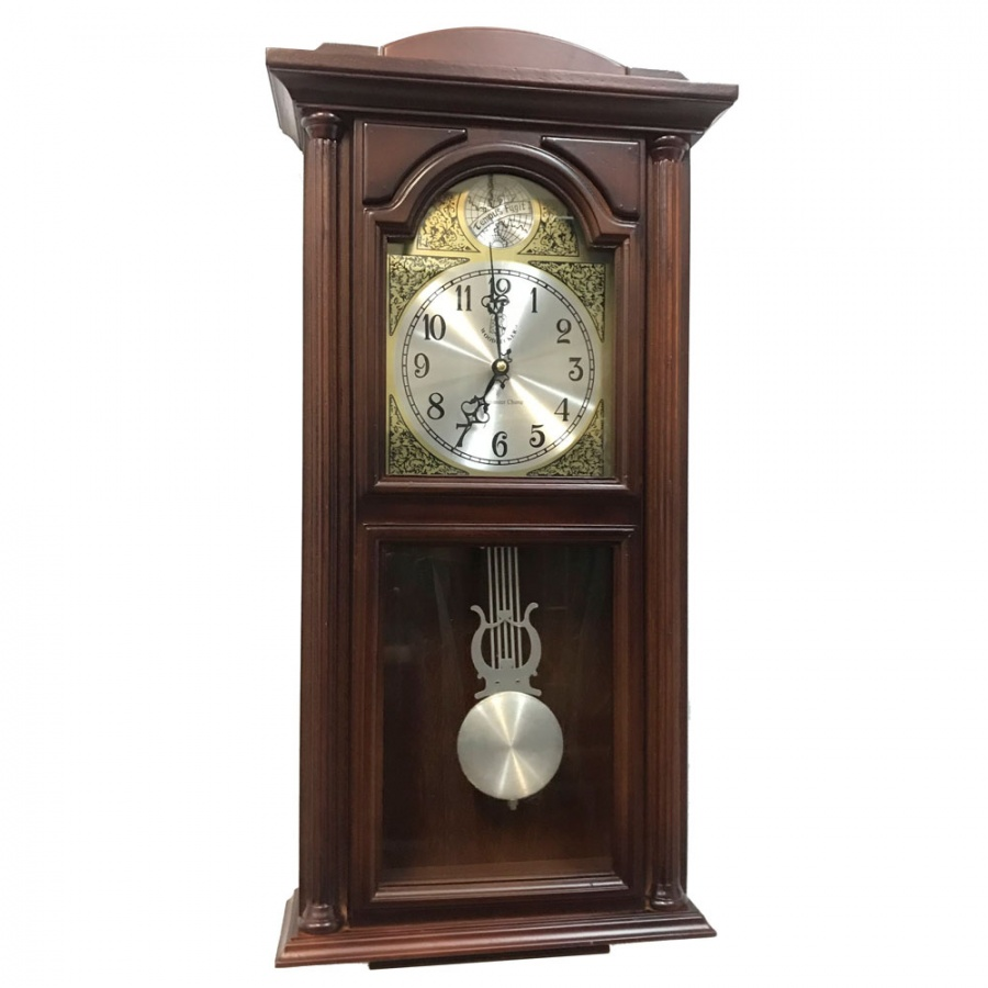 Настенные часы Woodpecker 9377 (M) (07) с маятником и боем