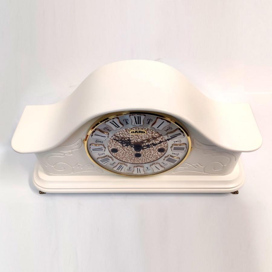 Настольные механические часы SARS 0077-340 White