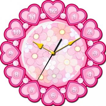 """Часы настенные Tiarella """"Мир прекрасен"""""""