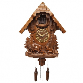 """часы с кукушкой Columbus CQ-020 """"Земледелец"""""""