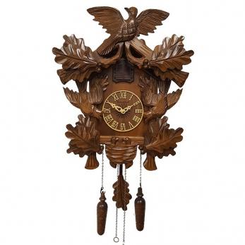 """часы с кукушкой Columbus CQ-055 """"Соловей в дубовой роще"""""""