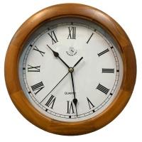 Деревянные настенные часы Woodpecker 7143W (05)