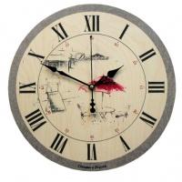 Настенные часы Династия 02-023 Красный зонтик