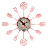 Настенные часы GALAXY 133-P-cupcake
