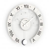 Настенные дизайнерские часы Genius с маятником