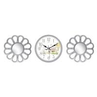 Настенные часы с зеркалами GALAXY 212-SET-53-4