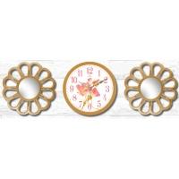 Настенные часы с зеркалами GALAXY 212-SET-53-3