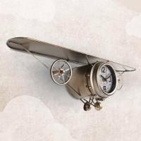 Настенные часы-самолет Lowell 21468G