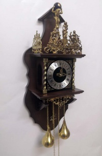 Настенные часы SARS 5602-261 Dark Walnut