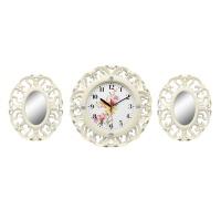Настенные часы с зеркалами GALAXY 73-SET-1
