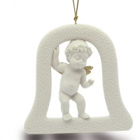 Статуэтка-подвеска Nadal 736939 Орнамент колокольчик ангела