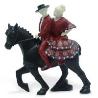 Статуэтка Nadal 763619 Pareja a caballo (Пара верхом на лошади)