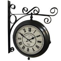 Настенные двусторонние часы GALAXY AYP-820-2 Black
