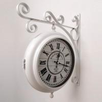 Настенные двусторонние часы GALAXY AYP-820 White