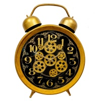 Настенные часы с шестеренками GALAXY CRK-600-03