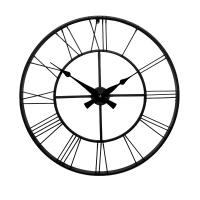 Настенные часы GALAXY DM-100 Black, 70см, из металла