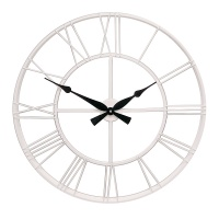 Настенные часы GALAXY DM-100 White, из металла, 70 см