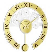 Настенные дизайнерские часы Genius pendulum маятником