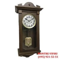 Старинные настенные часы с боем Gustav Becker-1