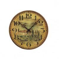 Настенные часы из стекла Hermle 30904-002100