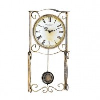 Настенные часы из металла Hermle 70967-002200
