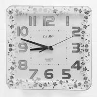 Настенные часы из стекла La Mer GT016001