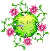 """Часы настенные Tiarella """"Колибри"""""""
