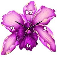 """Часы настенные Tiarella """"Орхидея"""""""