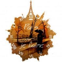 """Часы настенные Tiarella """"Париж"""""""