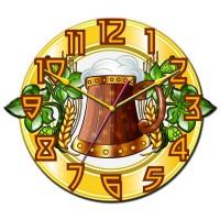 """Часы настенные Tiarella """"Кружка пива"""""""