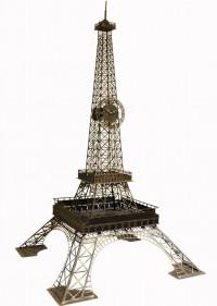 Напольные часы из металла Eiffel