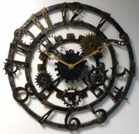 Настенные часы Династия 07-006 Скелетон-Арабский