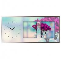 """Настенные часы из песка Династия 03-070 """"Солнечный день"""""""