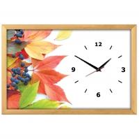 """Настенные часы из песка Династия 03-161 """"Осень"""""""