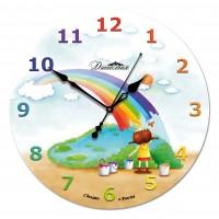 Настенные часы из стекла Династия 01-044