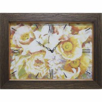 Часы-картины Династия 04-002-05 Цветы