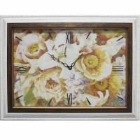 Часы-картины Династия 04-002-11 Цветы
