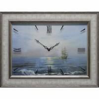 Часы картины Династия 04-006-15 Корабль