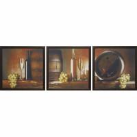 Модульная картина Династия 06-025-02 Белое вино