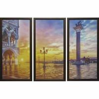 Модульная картина Династия 06-035-03 Площадь в Венеции