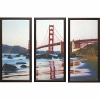 Модульная картина Династия 06-043-03 Красный мост