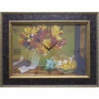 Часы картины Династия 04-012-13 Осенний букет